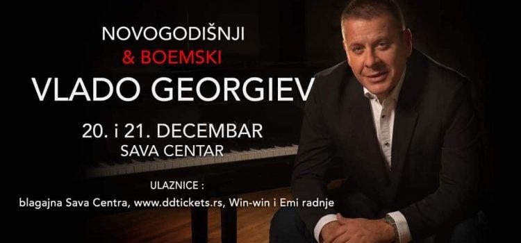 """""""BOEMSKI I NOVOGODIŠNJI""""  VLADO GEORGIJEV U SAVA CENTRU"""