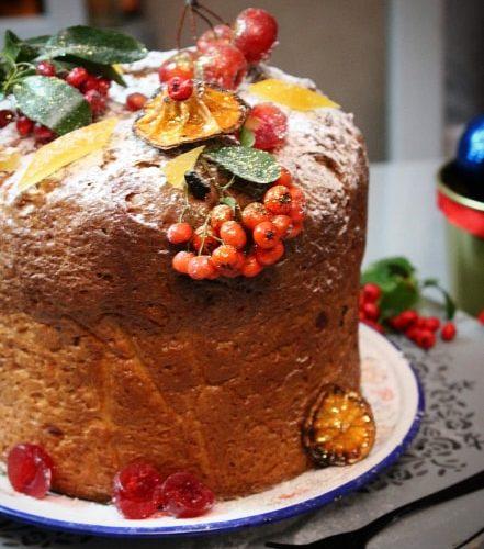 Božićni panettone ( paneton)
