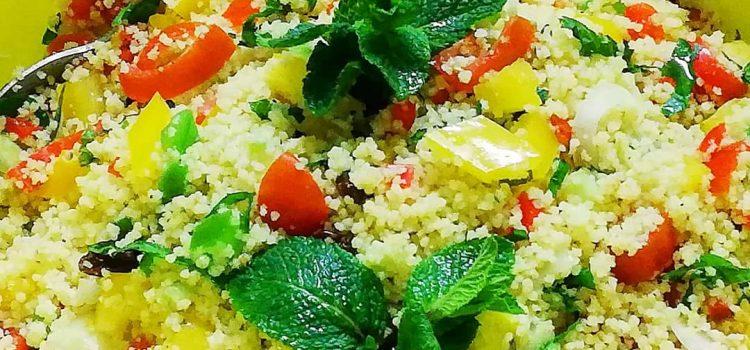 Kuvamo za vas: Orijentalna taboulé ( tabule) salata sa povrćem