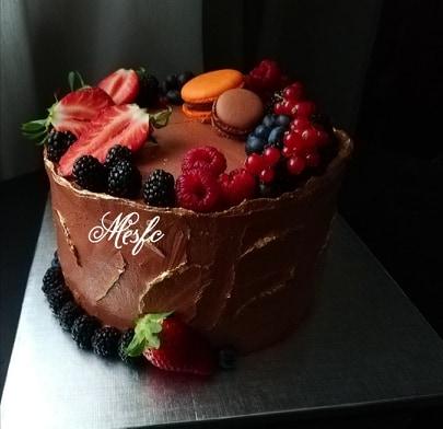 """Ovo morate probati: """"Ganache torta sa kremom od čokolade i kakaom"""""""