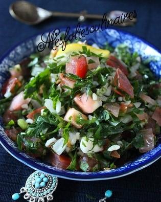 Lako se sprema, a ukusno je: Libanska  taboulé  (tabule) salata