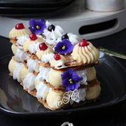 Francuski mille-feuille (milfoj – hiljadu listića kolač)