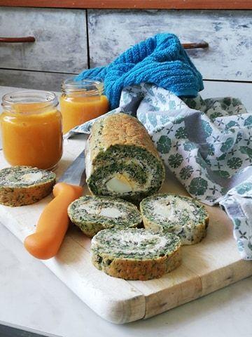 Idealan doručak: Slani rolat od spanaća sa grčkim  jogurtom