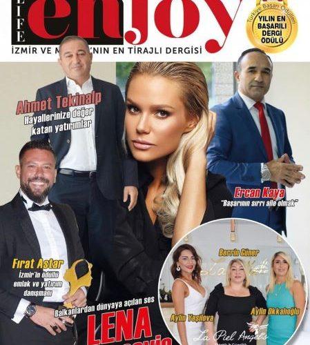 """Lena Kovačević zvezda u Turskoj  – Naslovna strana časopisa """"Enjoy""""-"""