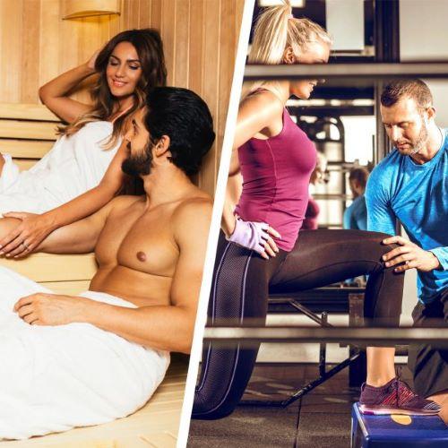 Poseban poklon za dvoje: Trening i sauna