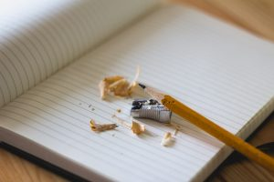 sveska, pisanje, ucenje, olovka