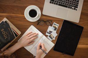 ucenje, pisanje, kafa