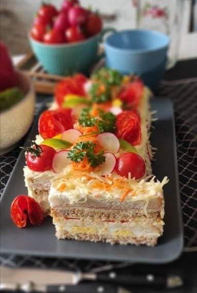 Preukusno: Francuska sendvič torta