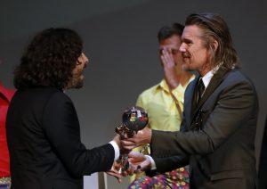 Reditelj Stefan Arsenijević i Ethan Hawk, film Strahinja Banović - Grand Prix - Crystal Globe