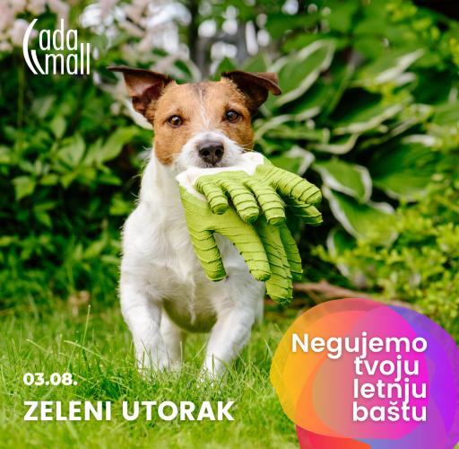 Ada Mall bira najlepši zeleni kutak Beograda