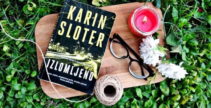 """Čitamo: """"Izlomljeno"""" – Karin Sloter"""