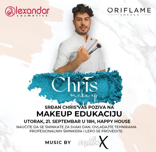 Male tajne velikih majstora: Srđan Chris vas poziva na Make up edukaciju