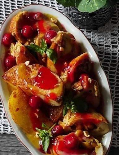 Spremamo za vas: Rolovana piletina u sosu od višanja