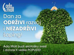 Ada Mall - ZELENI UTORAK OKT